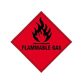 Scan Flammable Gas SAV - 100 x 100mm SCA1852S