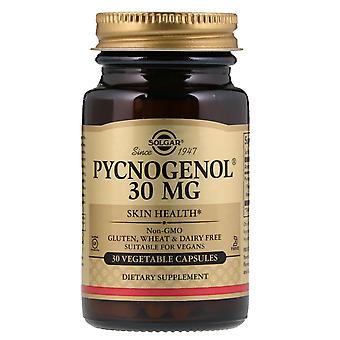 Solgar, Pycnogenol, 30 mg, 30 capsules végétariennes