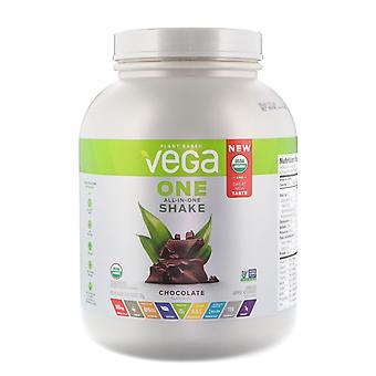 Vega, One, All-In-One Shake, Chocolate, 3 lbs (1.7 kg)