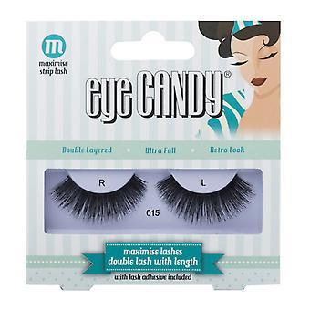 Eye Candy 50's Style False Eyelashes - 015 - Medium Wearable Volume Lashes
