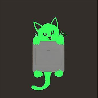Luminous Cartoon Design, Glowing In The Dark-wall Sticker