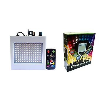 108 Led Mixed Flashing Stage Lights Remote Sound Activated Disco Lights