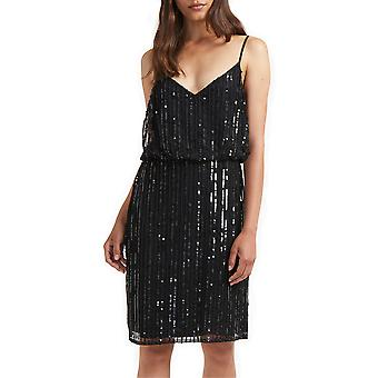French Connection | Aster Sleeveless Sequined Dress