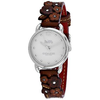 Coach Women-apos;s Delancey White Dial Watch - 14502761