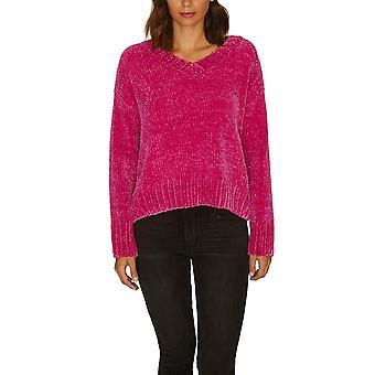 Sanctuary | Chenille Long Sleeve V Neck Sweater