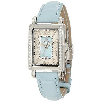 גבריל נשים & apos;s 8247NE שדרת אמריקה סופר מיני יהלום עור תאריך שעונים