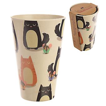 Bamboo Composite Feline Fine Cat Cup X 1 Pack