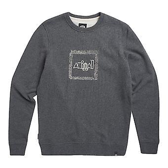 Animal Transition Sweater - Dark Charcoal Marl