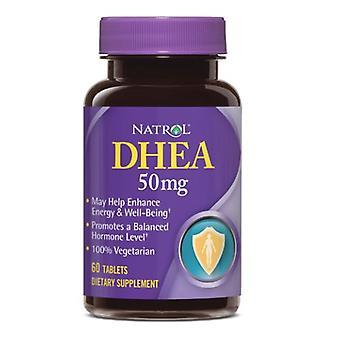 Natrol Dhea, 50 mg, 60 flikar