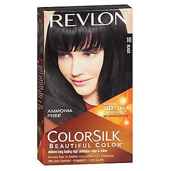 ريفلون Colorsilk لون الشعر الطبيعي، 1N أسود لكل