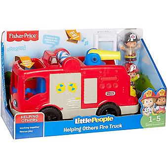 Fisher price little people helping others fire truck, sounds, songs & phrases,