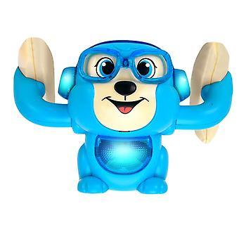 Bebek Ses Kontrolü Elektrikli Flip, Yuvarlanan Küçük Maymun Oyuncak