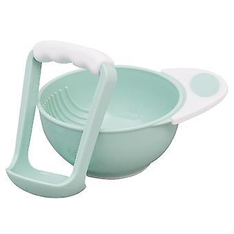 Baby Foods Grinder, Feeding Food Bowl Safety Processor, Grinding Set