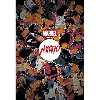 O livro de pôsteres da Marvel Art Of Mondo por Vários Artistas