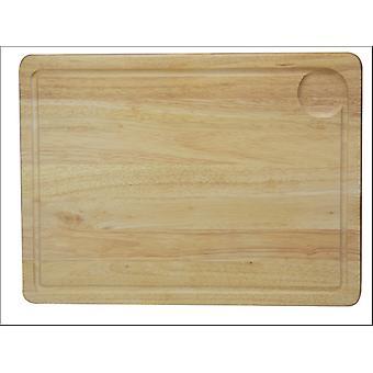 Apollo Housewares Rubberwood Meat Board 40 x 30cm 7311