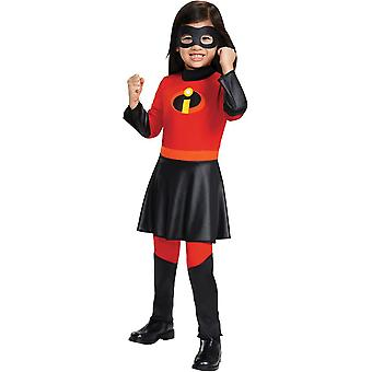 Violet Jumpsuit Deluxe Toddler Costume