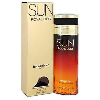 Sun Royal Oud By Franck Olivier Eau De Parfum Spray 2.5 Oz (women) V728-551904