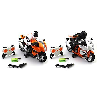 Remote Controlled Mini Motorcycle Toy