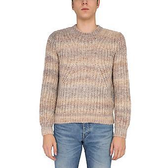 A.p.c. Wpaapf23980baa Men's Bege Wool Sweater