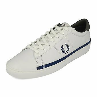 Fred Perry Spencer Leather Men's Trainer Shoes B7110-200 White