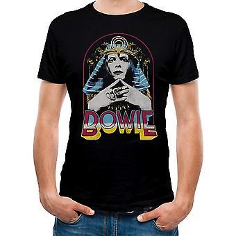 David Bowie Unisex Adults Pharoah Design T-Shirt