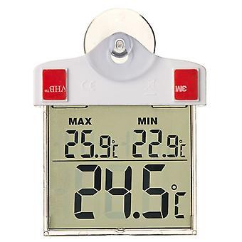 Natur Digitalt vindue termometer 13x10x3 cm 6080078