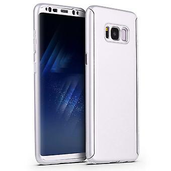 Stoßfeste Hard Shell Hülle für Samsung Galaxy S10 + / S10 Plus / S10 Plus - Silber