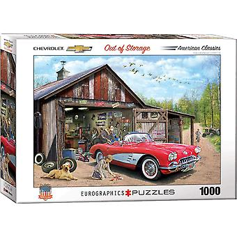 Eurographics - out of storage - 1959 corvette