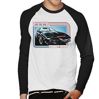 Knight Rider KITT Superdatorn Men's Baseball Långärmad T-shirt