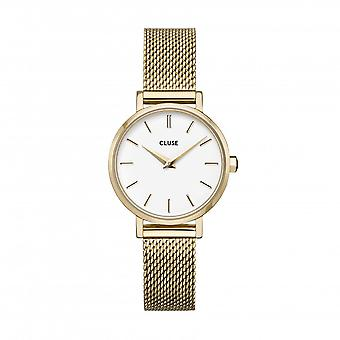 Cluse Unisex La Behème Gold Circle Quartz Fashion Watch CW0101211001