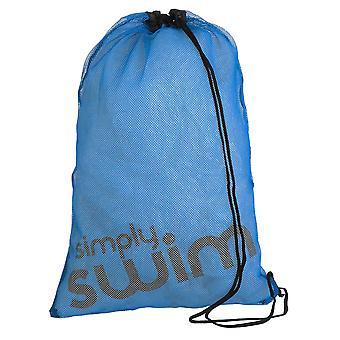 Simply Swim Swim Mesh Bag - Blue