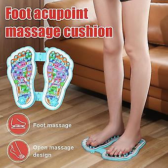 Good healthy convenient foot massager pad promote blood circulation mat health care feet message tool for men women