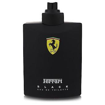 Ferrari Schwarz Eau De Toilette Spray (Tester) von Ferrari 4,2 Oz Eau De Toilette Spray