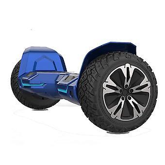 "NEU - G2 PRO- 8.5"" All Terrain Blue Hummer Monster Segway Hoverboard"
