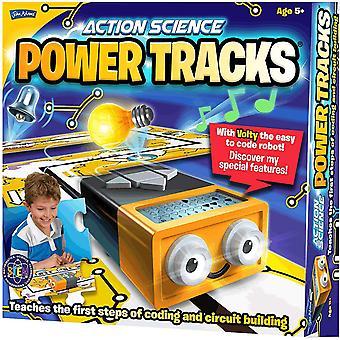 John Adams 10622 Power Tracks Science Kit, Multi-Colour