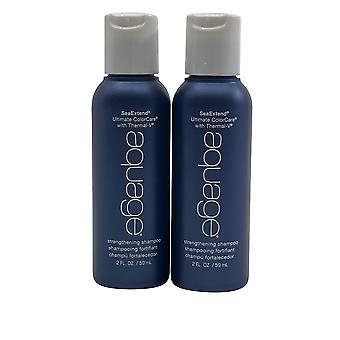 Aquage Strengthening Shampoo 2 OZ Set of 2