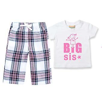Big Sis Tartan Hose Pyjamas