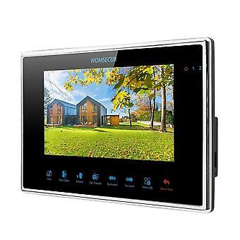 شاشة LCD الباب الهاتف داخلي شاشة اللمس لوحة المفاتيح HDK