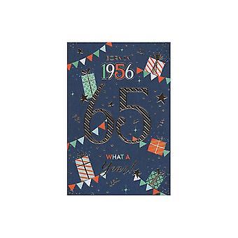 ICG Ltd 2021 Male 65 Year You Were Born Birthday Card
