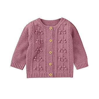 New Born Baby Coat,, Neuletakki, Syksy, Kevään neulepusero, Pitkät hihat