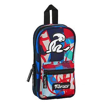 Pencil Case Backpack El Niño Aloha (33 Pieces)