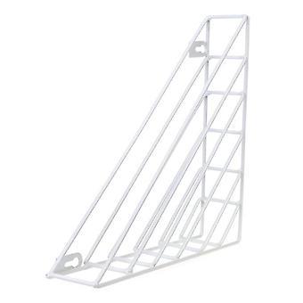Nordic Geometric Shape Iron Magazine Storage Rack, Wall Hanging Basket, Home