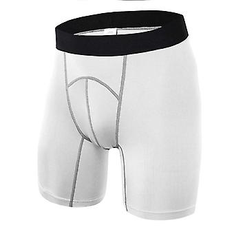 Gym Sport Pantaloni scurți, Athletic Training Piele Tight Base Layer Pantaloni scurți