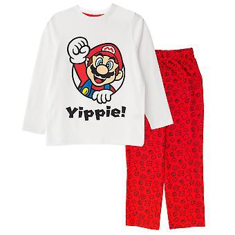Super Mario Boys Yippee Pyjama Set