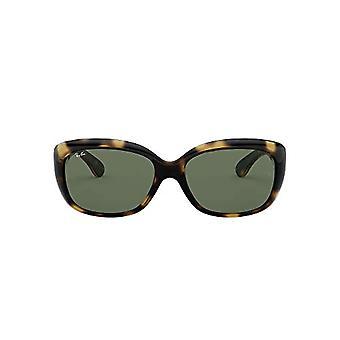 Ray-Ban 4101, Damen Sonnenbrille, Braun (Tortoise/Green Classic), 58