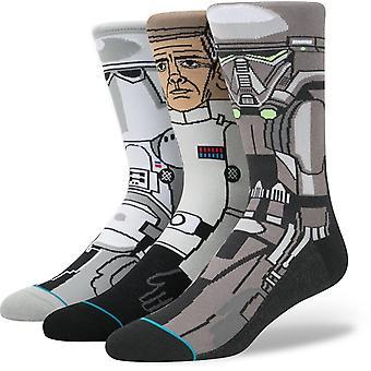 Stance Star Wars Rogue one 3 Pack Socken in schwarz