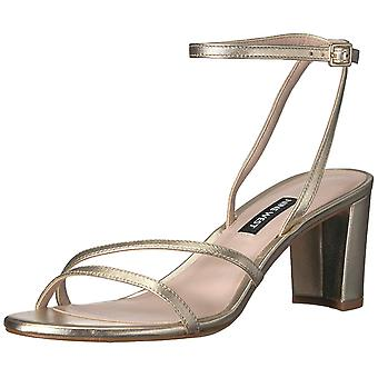 Nine West Women's Parlanda Metallic Heeled Sandal
