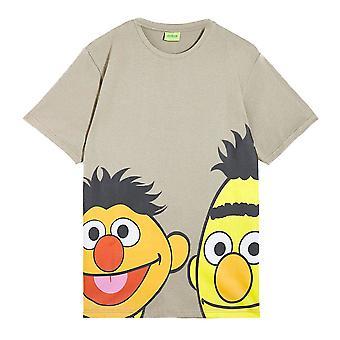 Men's Sesame Street Bert and Ernie Crew Neck T-Shirt