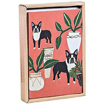 Dogs 'N' Plants Luxe Foil Notecards