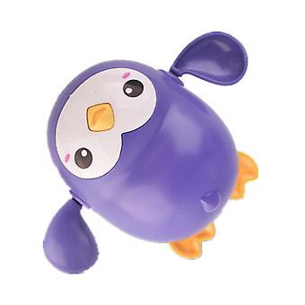2Pcs penguin purple cartoon bath animal penguin whale baby water toy,boys girls bathing toys az5908